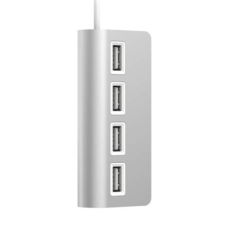 Usb Hub Apple 4port 2 sabrent 4 port aluminum usb 2 0 hub for mac hb umac