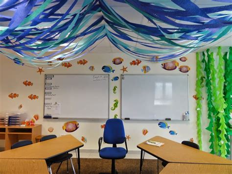 The Sea Classroom Decorations by The Charming Classroom Classroom Theme Random