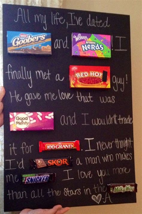 Poster Birthday Card Ideas Candy Poster Good Ideas Cute Ideas Pinterest