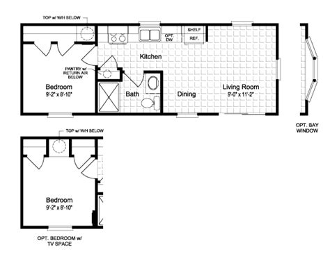 mobile tiny house floor plans small mobile home floor plans