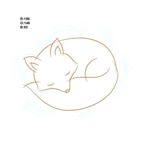 Fox Drawing Outline by How To Draw A Fox Illustration In Adobe Illustrator