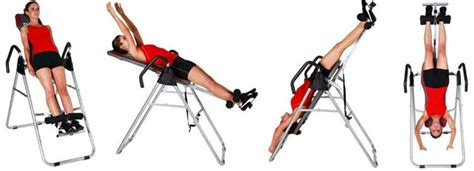 equipment ch it8070 inversion therapy table