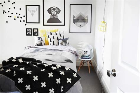 black and white teenage bedroom 35 timeless black and white bedrooms that know how to stand out
