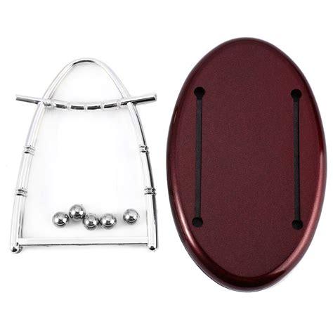 Pajangan Per 5 pajangan meja pendulum newton model arched size m brown