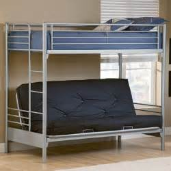 bunk bed with futon on bottom top photo resource