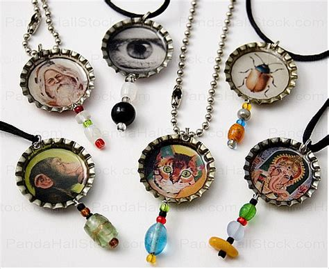 how to make bottle cap jewelry how to make bottle cap necklaces bottle caps can also
