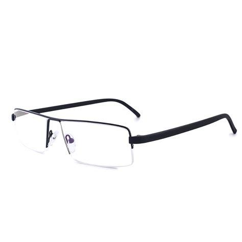 shuaidi anti fatigue semi rimless frame reading glasses