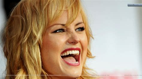 malin akerman laughing face closeup wallpaper