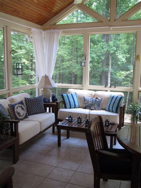 swing cocktailkleid karminrot sunroom wall ideas 35 beautiful sunroom design ideas
