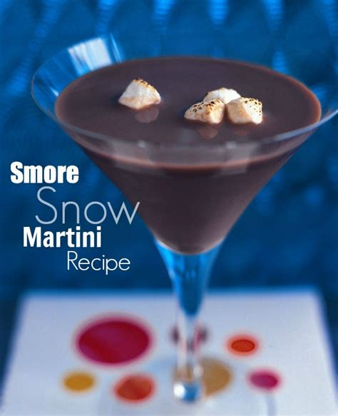 martini smore s more martini recipe
