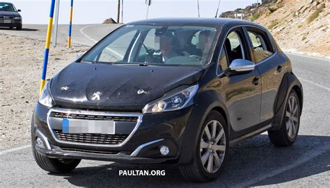 peugeot compact spyshots peugeot 1008 compact crossover on test