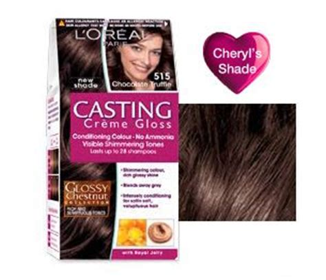 creme gloss caramel delice l oreal spot 2014 cr 232 me gloss 515 chocolate truffle cheryl s shade hair shades