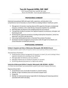 neonatal cover letter resume exle sle neonatal best free home