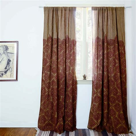 Bohemian Window Curtains Bohemian Window Curtains Cote D Azure Bohemian Window Treatment Curtains Brown Bohemian