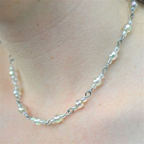 easy to make jewelry simple paperclip necklace