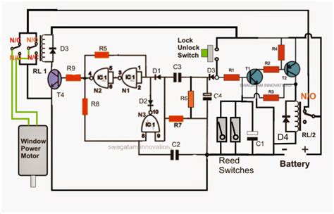 car power window controller circuit part2 electronic