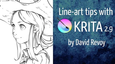 art tutorial line art line art tutorial krita 2 9 jayanam gamedev tutorials