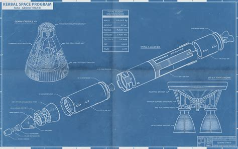 how to make a blueprint artwork kerbal fasa blueprints white rocket