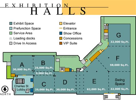 Baltimore Convention Center Floor Plan | the baltimore convention center