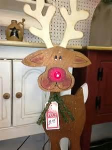 Holiday Wood Craft Patterns - cute tall wood craft reindeer santa n reindeers n elves pinterest