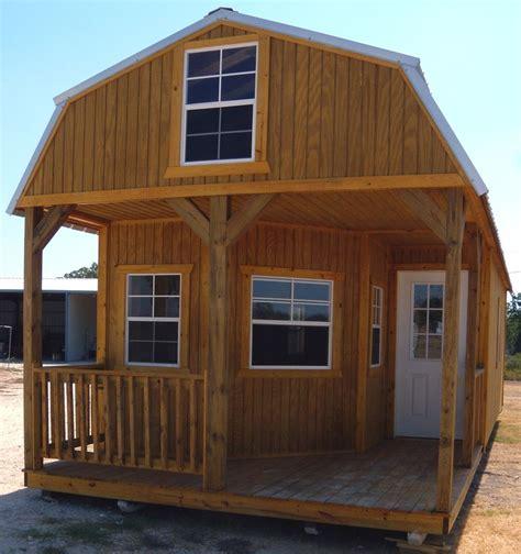 Lofted Barn Cabin Plans by Derksen Portable Deluxe Lofted Barn Cabin My Favorite