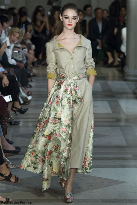 Fab Carolina Herrera Dresses From Fashion Week by Carolina Herrera Summer 2017 Collection New York
