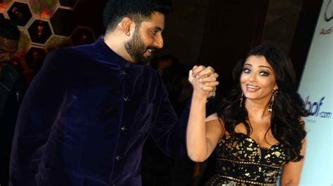 aishwarya rai husband aishwarya rai s romantic pda moments with hubby abhishek