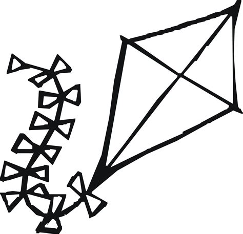 Coloring Page Kite by Kite Coloring Page Coloring Pages