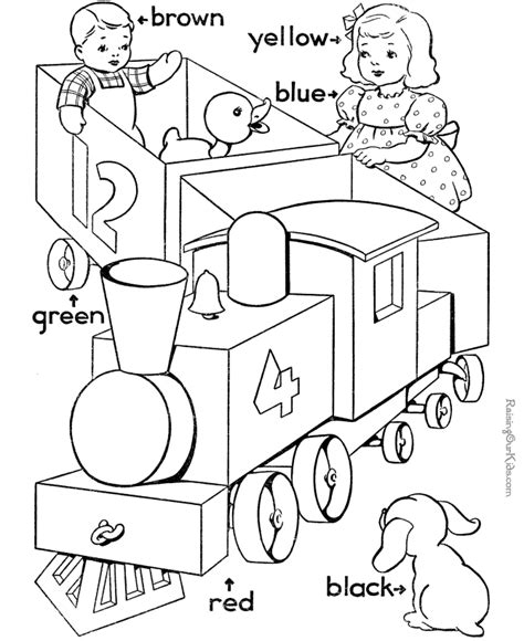 coloring book for learning colors teaching colors to preschooler 022