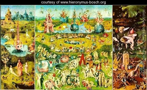 the garden of earthly delights hieronymous bosch www