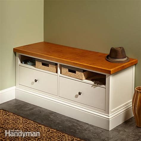 ikea bench hack ikea hemnes hack built in bench the family handyman