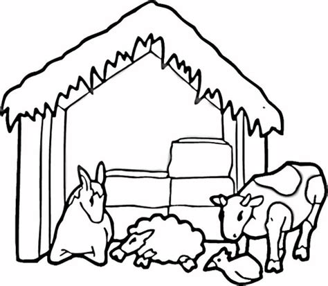 coloring book farm animal coloring pages barn animals