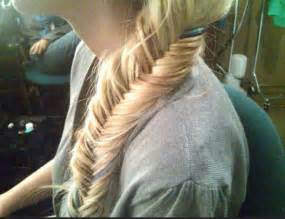 fishtails with braided hair fishtail braid hairstyles weekly