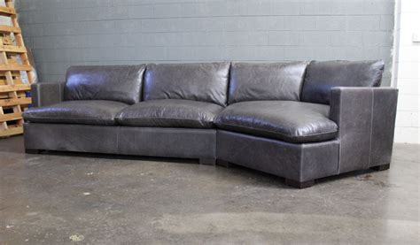 cuddler sectional sofa reno leather sectional sofa with cuddler in glove