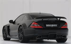 brabus mercedes sl 65 amg black series widescreen