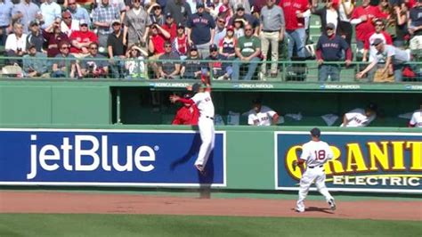 mookie betts robbed a hr stole two bases on one pitch and