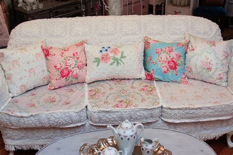 shabby chic slipcovers for sale shabby chic sofa slipcovered with vintage chenille