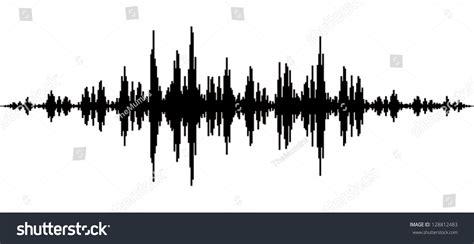 Frame Wall Sticker music waves stock vector 128812483 shutterstock