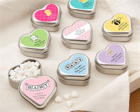 Kate Aspen Baby Shower Favors by Shaped Mint Tin Baby Shower Favors Kate Aspen