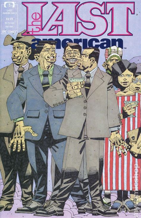 The Last American Book Last American 1990 Comic Books