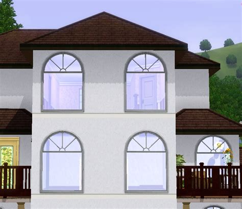 colonial style windows mod the sims colonial window styles