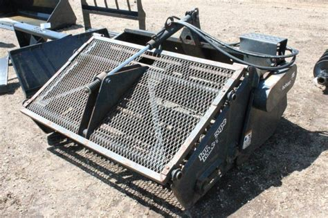 lot 16 bobcat landscape rake 5a 5ft sn 460002548