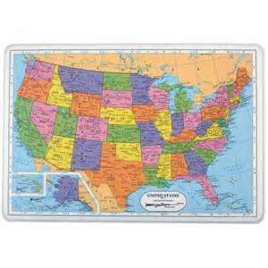 us map placemat united states placemat montessori services