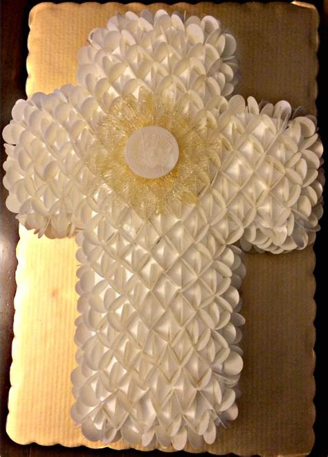 pastel de ostias primera comunion decoracion de