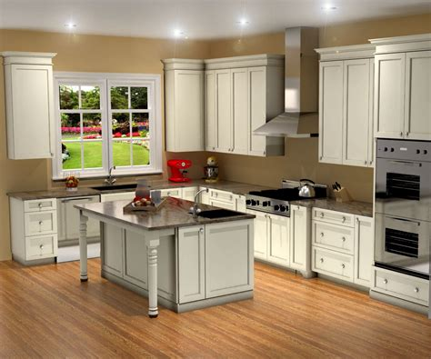 Designing A Kitchen Traditional White Kitchen Design 3d Rendering Nick Miller Design