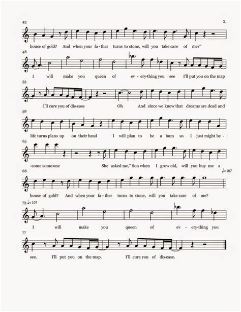 gold house music flute sheet music house of gold sheet music