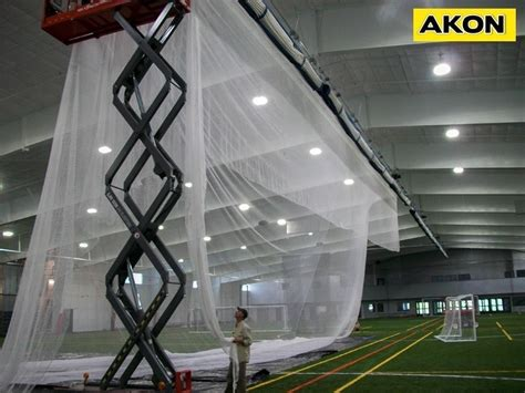 industrial curtain track sport net track by akon industrial curtain track
