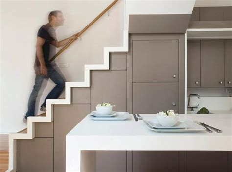 Low Space Stairs Design Space Saving Ideas For Decorating Small Apartments And Creating Modern Rooms