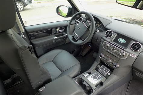 land rover lr4 interior land rover lr4 scv6 review price photo video gayot