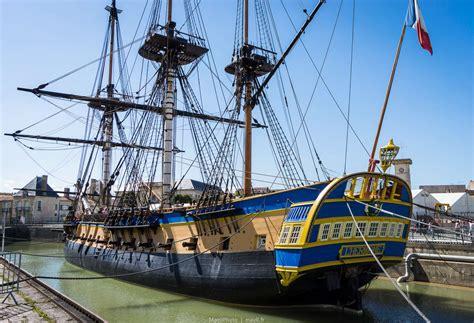 hermione bateau visite petit tour sur l hermione 224 rochefort maoli voyageur du